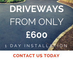 driveways from only 600